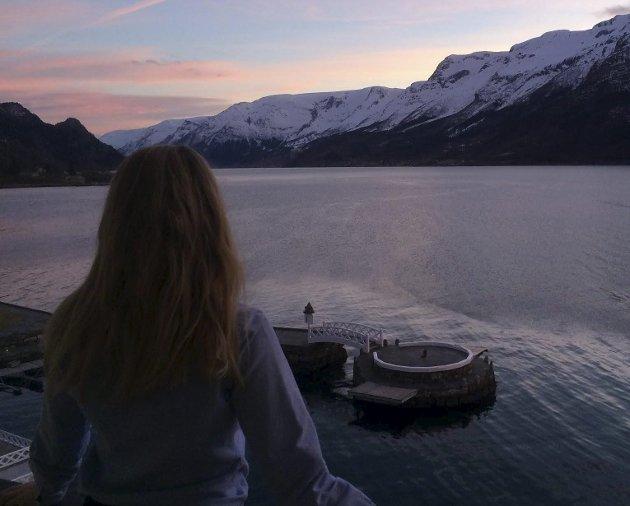 Kristine Madeleine Banggren Gripsgård skriver om å tørre. Foto: Privat