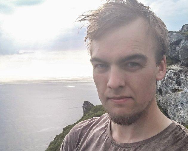 Jørund Nygård, styremedlem i Motvind Norge og Nei til vindkraft på Bremangerlandet.