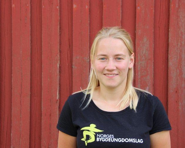 Inger Johanne Brandsrud, bygdepolitisk nestleder i Norges bygdeungdomslag.