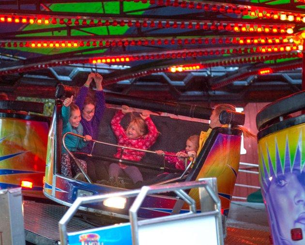 Karusellkveld på Gjøvik-Marken