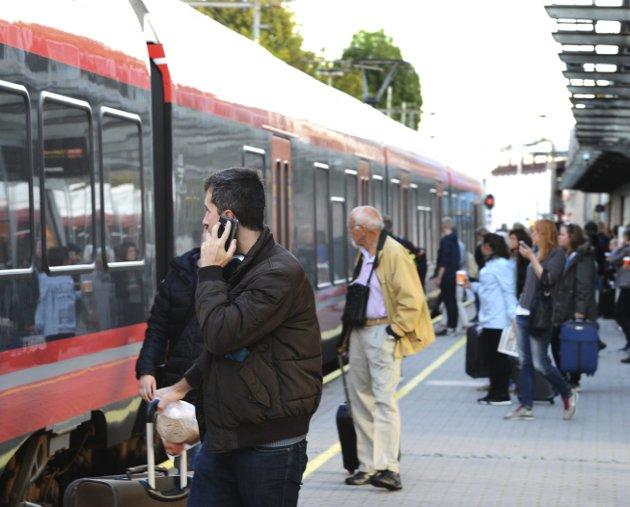 Stasjonsplassering: Hensikten med dette innlegget er i første rekke å peke på at stasjonsplassering ikke kun dreier seg om av- og påstigning, skriver Per Øystein Andersen.Arkivfoto