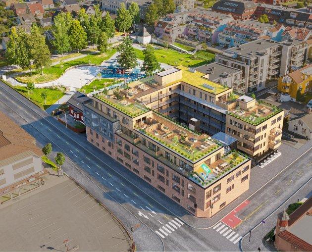 Det er klart for salgsstart for et nytt boligprosjekt i Lillehammer sentrum. I Margarinfabrikken Park planlegges det 54 leiligheter.