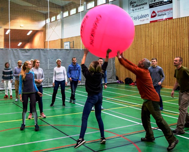 Aktivitet for deltakerne under ASAK-konferansen i Søndre Land.