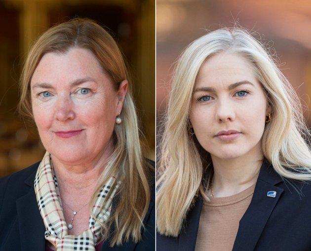 Det er vanskelig å se at Ap skal få gjennom sin politikk uten å bryte skatteløftet de har gitt, skriver Elin Agdestein og Mari Holm Lønseth (H).