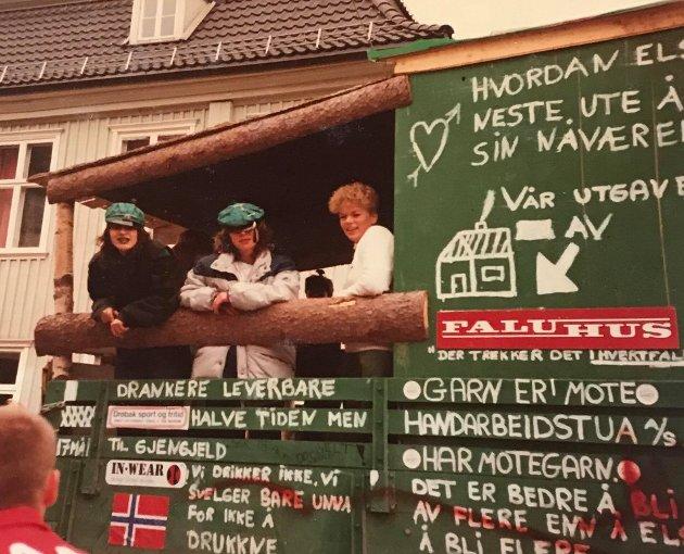 Her ser du russen i Drøbak, 1983.