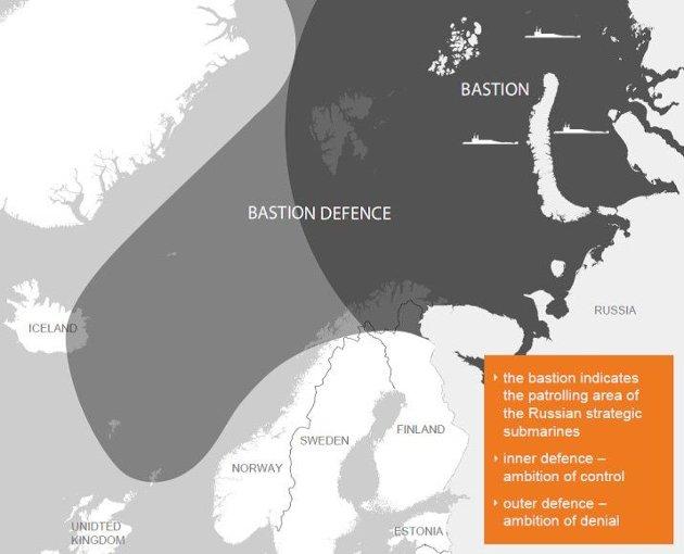 Spredning av allierte kapasiteter er den eneste måten å møte trusselen fra den russiske bastionen.