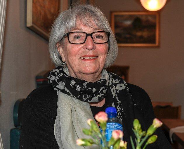 Rita Aune bor i nabolaget og sikret seg et festivalpass. Hun har fått med seg alle konsertene.