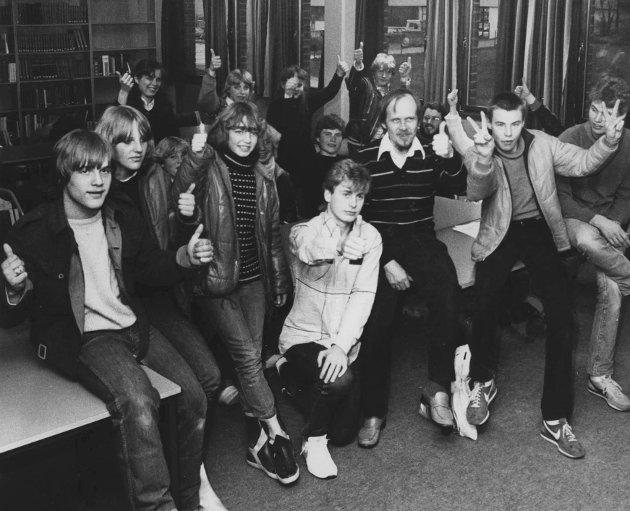 1982: Ungdomssenteret i Mysen i 1982.