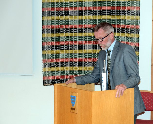 På talerstolen: Morten Steinsrud tar opp ulike tema i dette innlegget.