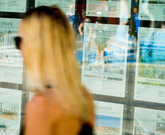 FramtiD: - Noe av det som tar framtidshåpet og mulighetene fra mange er de skyhøye boutgiftene. Foto: Vegard W. Grøtt / NTB scanpix
