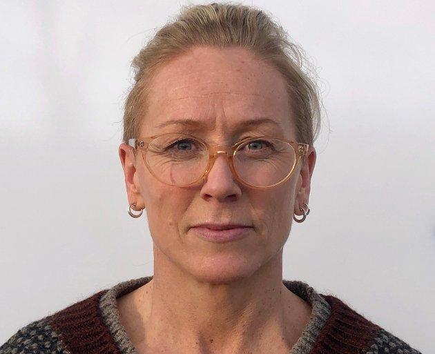 Ansvarlig redaktør og daglig leder i avisen Hadeland, Line Ramsrud.