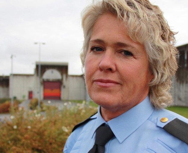 Ingeborg Kivle, region tillitsvalgt, region sør Norsk fengsel og friomsorg