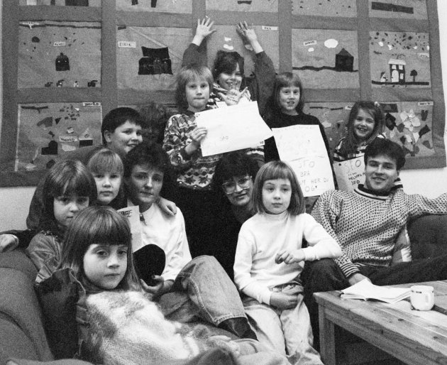 Dingemoen skule 1992.