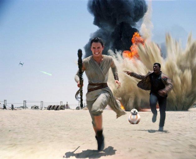Star Wars: Tilbake med et smell under regissør J.J. Abrams kyndige veiledning.Foto: filmweb.no