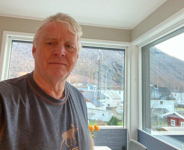 PENSJONISTEN: Journalist Jan Egil Fimreite går over i rekkja til pensjonistane etter 25 år i Sogn Avis.