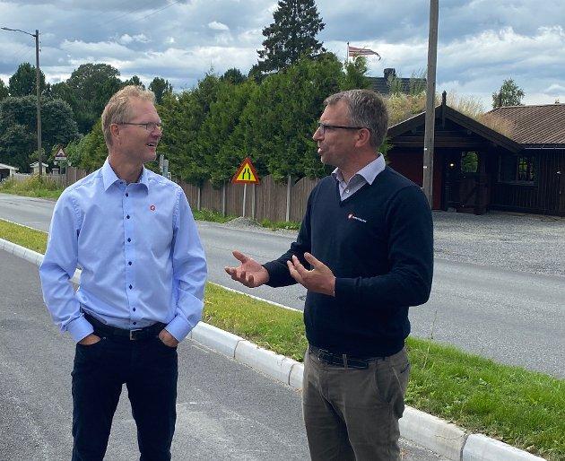 E6 skal ikke bygges som en lokalvei, det er hele Norgeshovedfartsåre det er snakk om, skriver Terje Settenøy og Tor Andre Johnsen (Frp).