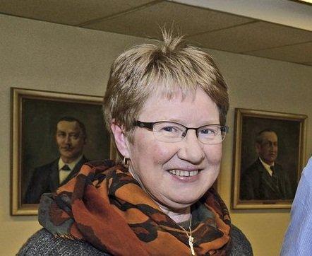Anne Margrethe Knarud, leder i Gran senterparti, Gran.
