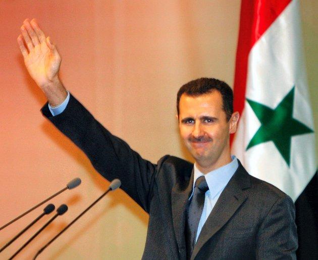 President Bashar al-Assad.Arkivbilde