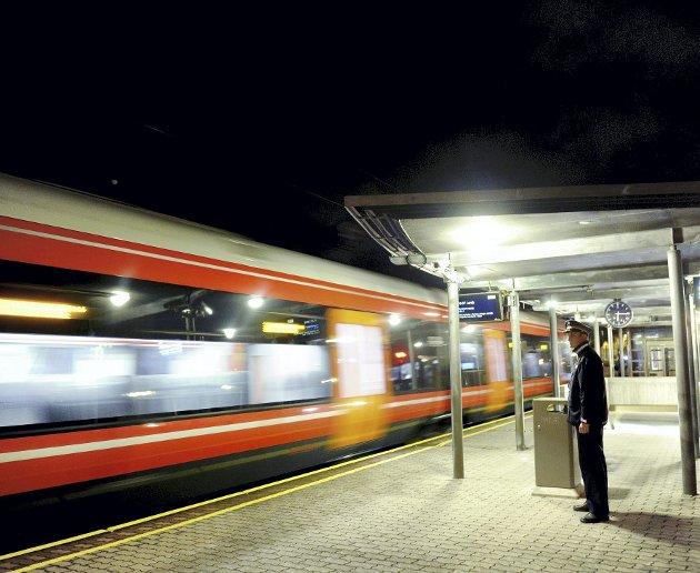 JERNBANE: Selv har jeg hatt lyst til å foreslå en felles jernbanestasjon for Sandefjord og Larvik, skriver forfatteren av innlegget.
