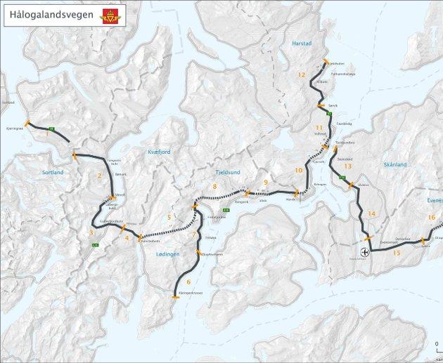 Hålogalandsveien.