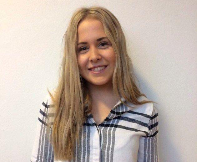 Line Rongved (18): – Det blir lettere å bli en del av samfunnet med tanke på både jobb, kommunikasjon og andre deler av hverdagen.