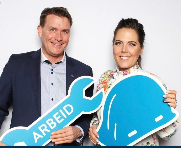 Stortingsrepresentanter Lene Westgaard-Halle og Kårstein Eidem Løvaas