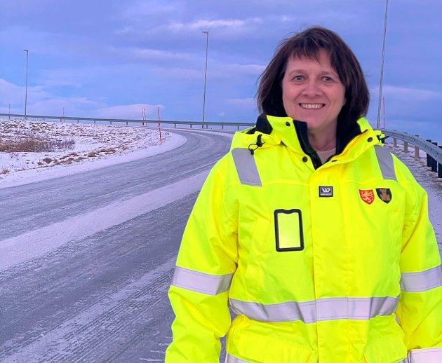 Fylkesråd for samferdsel og leder av Arktisk jernbaneforum, Kristina Hansen (AP).