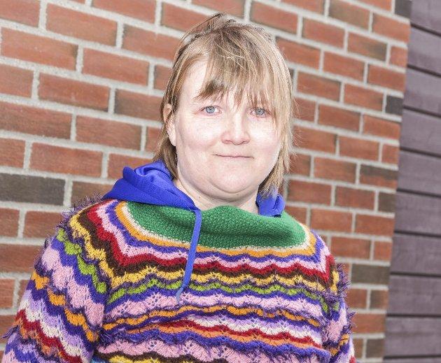 NR. 2: Reidun Eli Nylehn fra Mjøndalen er Rødts 2. kandidat i nye Drammen. Hun støtter klimastreiken 30. august.