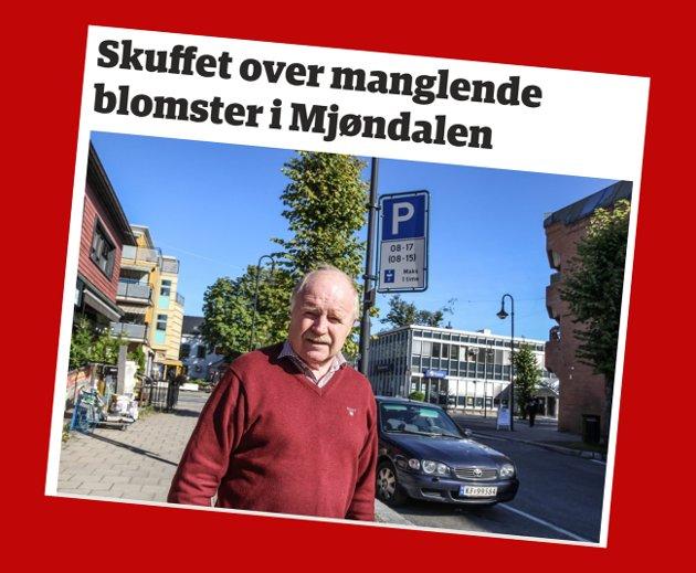 Skjemdump fra eikerbladet.no 3. august 2020