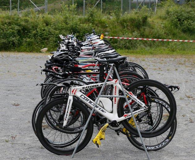 Auklandshavn Triatlon : Koster litt disse syklene