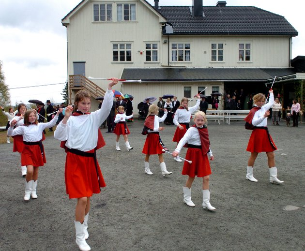 Siste skoletog på Skansen