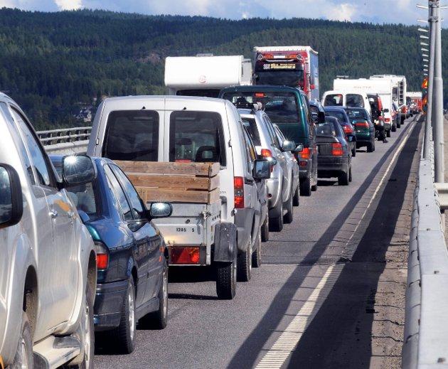 BLOD, SVETTE OG TÅRER: Norges-ferien kan bli slitsom i år.ARKIVBILDE