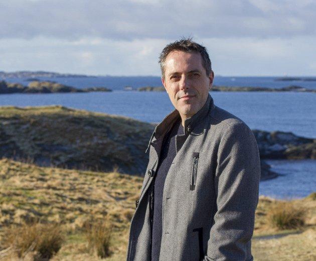 NY BOK: Forfatter Geir Tangen.