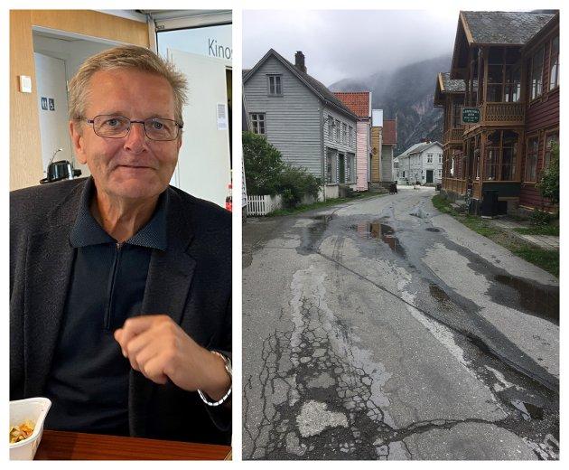 NÆRINGSARBEID: K-styret løyvde no i desember kr 500.000 til å ta framatt ein om lag 10 år gamal vedteken plan for Gamleøyri. No kan prosjektering og kostnadsrekning ta til, skriv Jarle Offerdal.