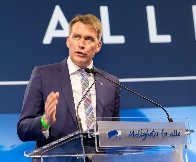 Stortingsrepresentant Kårstein Eidem Løvaas