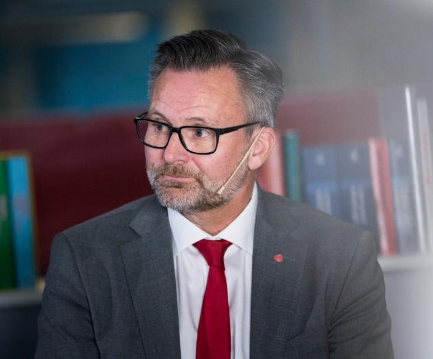 ORDFØRER I KARMØY: Jarle Nilsen.