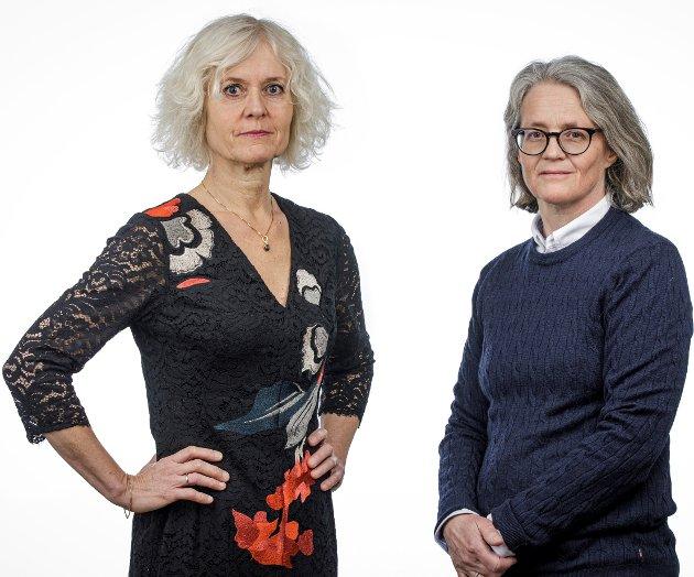 Tove Gundersen, generalsekretær i Rådet for psykisk helse og Cathrine Th. Paulsen, redaktør i Magasinet Psykisk helse