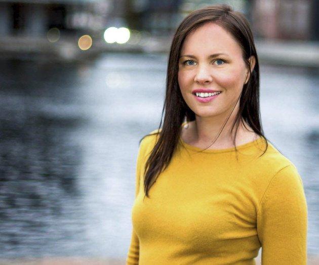 Cathrin Janøy, 3.-kandidat for Miljøpartiet De Grønne, Nedre Eiker.