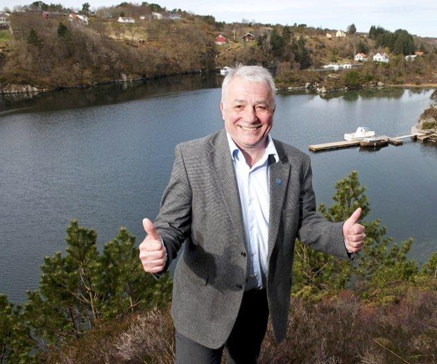 Austrheim-ordførar Per Lerøy argumenterer i dette innlegget kvifor kommunen framleis bør halda fram åleine. Arkivfoto