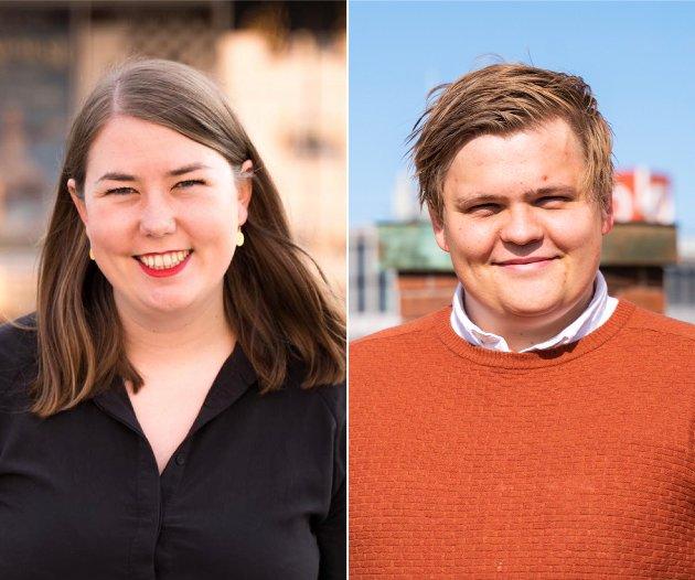 Nå ønsker vi at også flere andre lover å aldri tie på samme måte som vi lovte å aldri glemme, skriver Astrid Willa Eide Hoem, leder i AUF og Gaute Børstad Skjervø, nestleder i AUF.