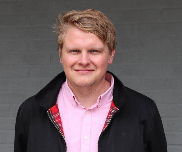 Sølve Rydland, ny redaktør i Avisa Nordhordland.