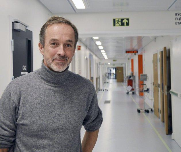 Etter ni år som direktør på Sykehuset Østfold trakk Just Ebbesen seg mandag fra jobben med umiddelbar virkning. Arkivfoto: Randi Kristoffersen