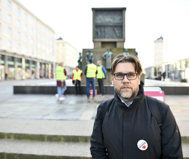 Fastlegeordningen er nærmest i fritt fall, skriver Nils Kristian Klev (bildet). ARKIVFOTO: Skjalg Ekeland