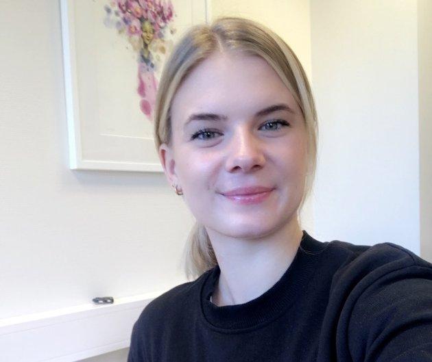 Psykologstudent: Maria Gevoll Hauge psykologstudent på veiledning hos Ragnhild Schei i Rakkestad kommune.