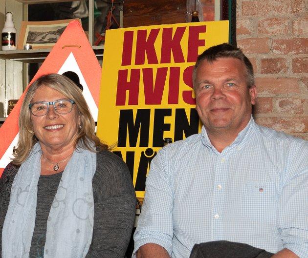 JOBB NOK TIL TO: Det mener ordfører Kirsten Orebråten (Ap), som vil ha Dag Erik Henaug (H) på heltid i rollen som varaordfører.