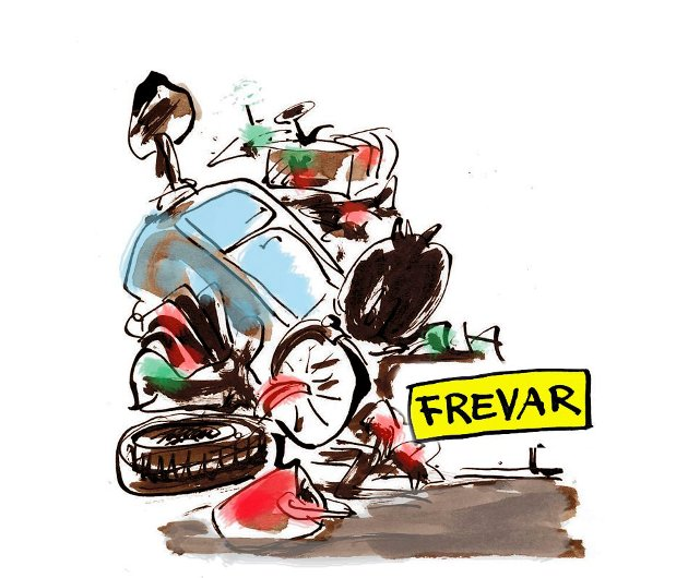 Mange lesere klager over at det nå er stengt for levering av avfall på Frevar.