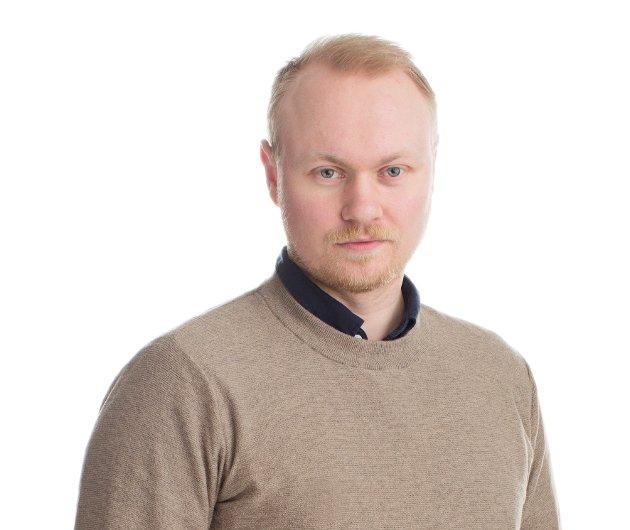 SÆRE SMAKSLØKER: Marius Guttormsen gleder seg ikke mest til maten når julebordssesongen kommer.