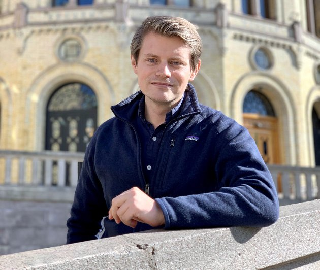 Peter Frølich, justispolitisk talsperson (H)