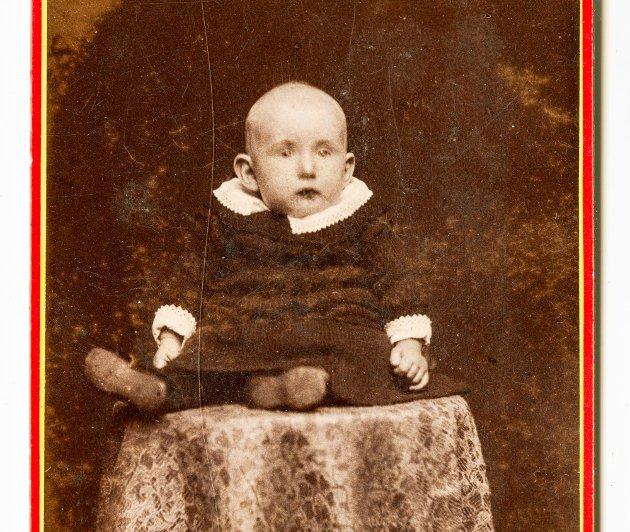 - Dette bildet av Roald Amundsen har aldri tidligere vært publisert, sier Jan Ove Ekeberg.