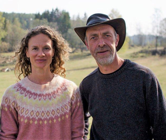 Hanne Lisa Matt og Helge Haugen i MDG Asker.